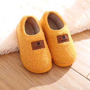 【哆果橙】防滑-软底1-3岁秋冬棉鞋