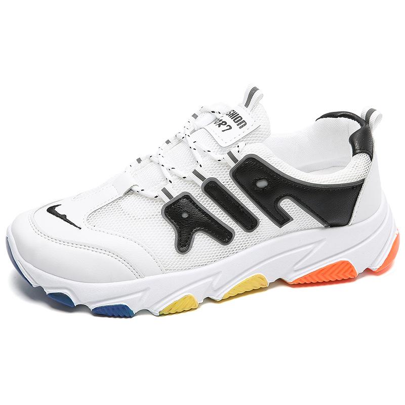 2020开学季夏季新款学生跑步鞋单网韩版男士休闲运动鞋网鞋男