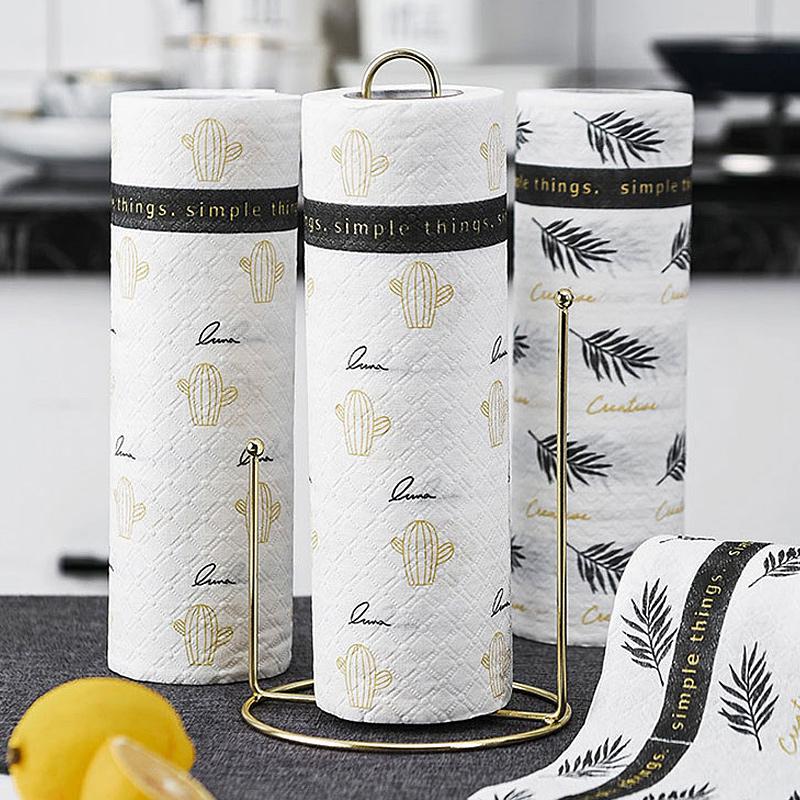 家务用免洗碗布去油加厚干湿两用一次性懒人麻布厨房用的抹布支架