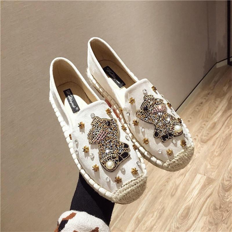 渔夫鞋女新款网红懒人鞋秋季外穿平底一脚蹬女鞋百搭时尚孕妇单鞋