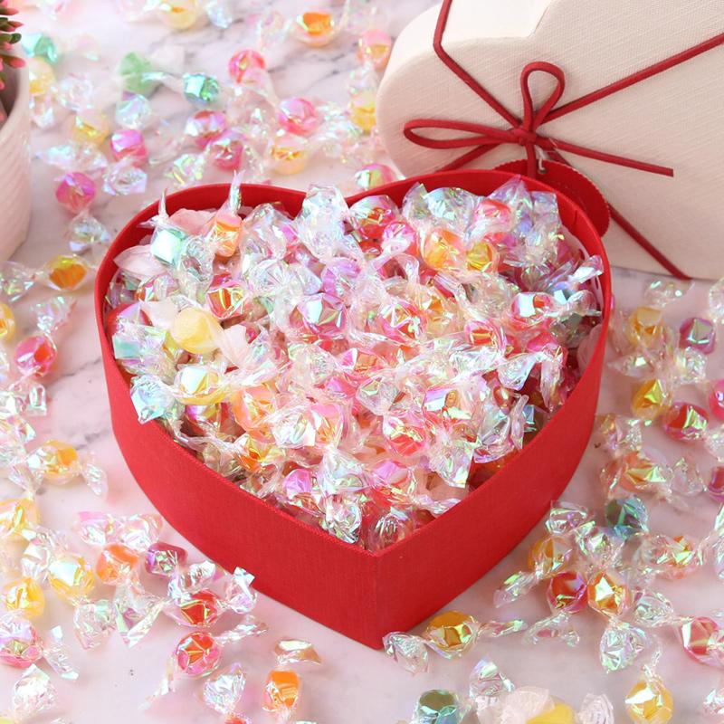 【典趣】彩色千纸鹤糖果礼盒装休闲零食