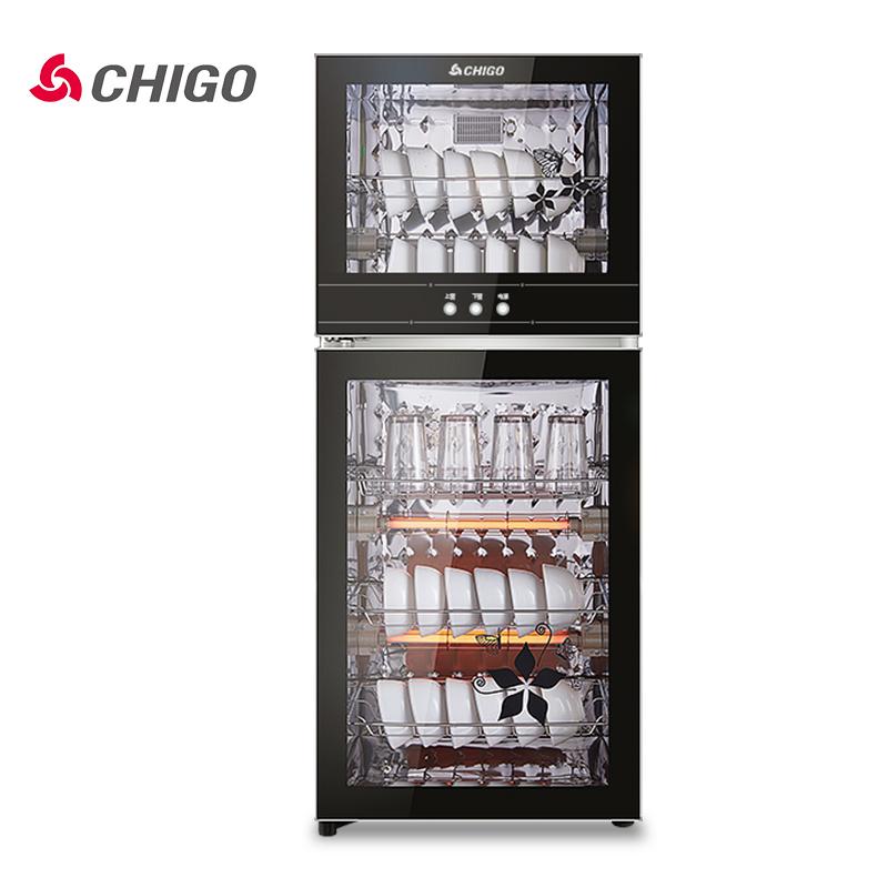 Chigo/志高 ZTP138消毒柜立式家用消毒柜商用小型迷你双门碗柜