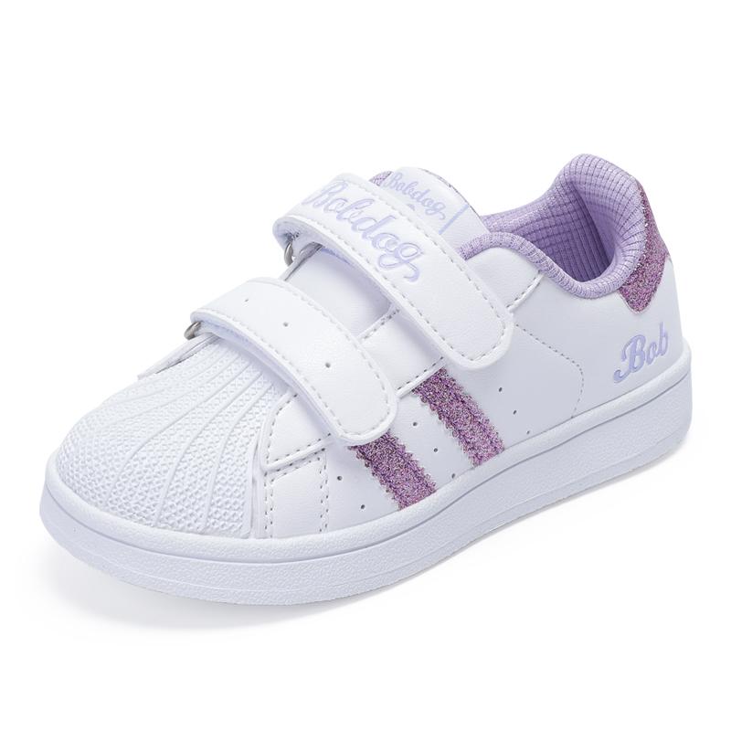 巴布豆童鞋旗舰女童鞋子秋冬百搭二棉鞋休闲鞋运动鞋板鞋小白鞋