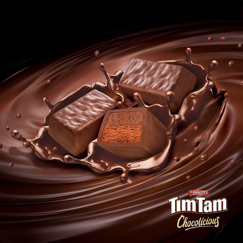 临期 澳大利亚进口 Arnott's 雅乐思 TimTam 黑巧克力涂层夹心饼干 200g*3件 多重优惠折后¥29.7包邮 焦糖夹心175g*3件可选