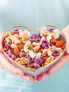 烘焙水果麦片即食干吃非无糖脱脂坚果燕麦片早餐速食懒人代餐食品