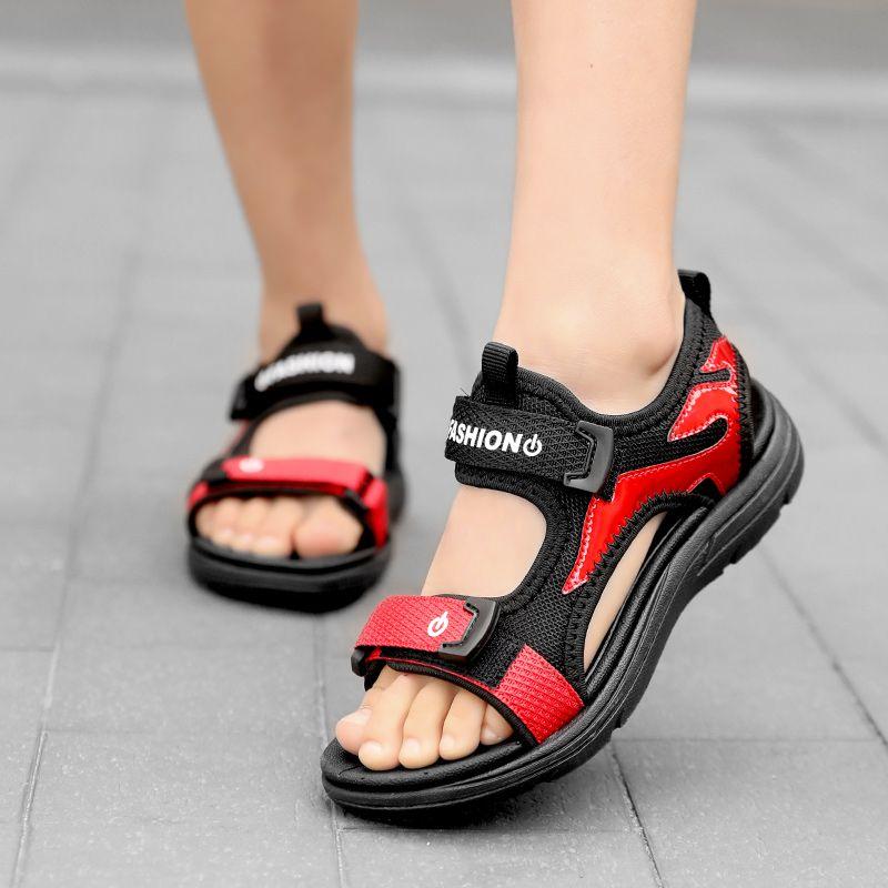 男童凉鞋2020新款夏季韩版中大童宝宝小孩软底沙滩儿童男孩童鞋子