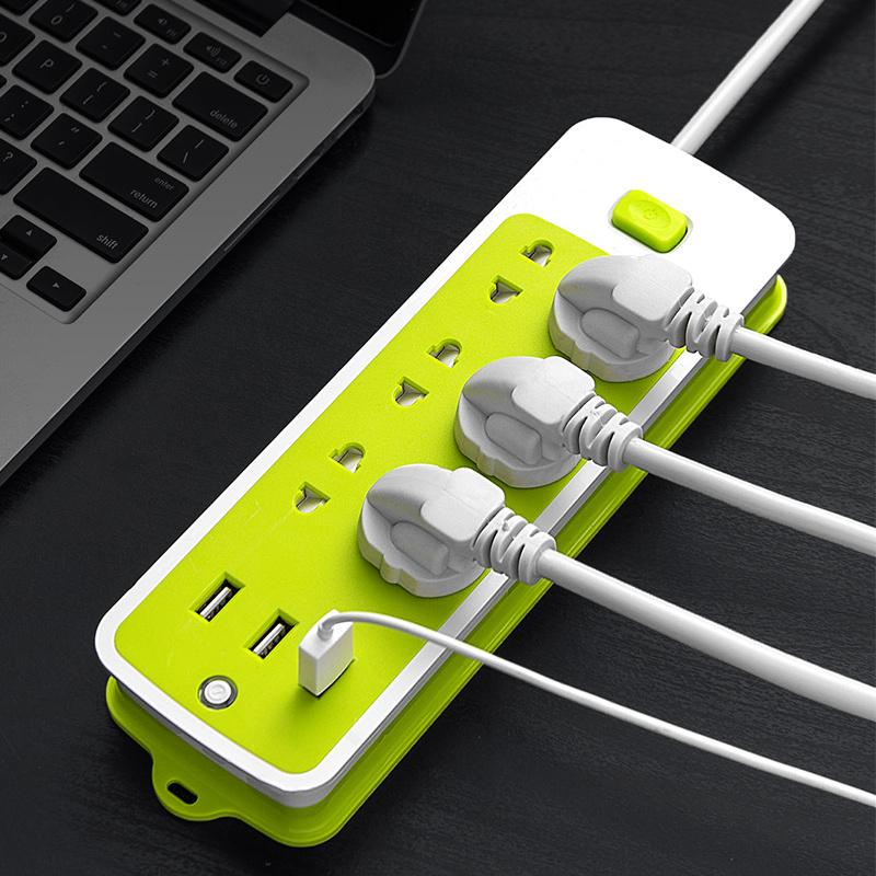 智能插座面板多孔usb插排插头转换器多功能电源插板家用宿舍学生