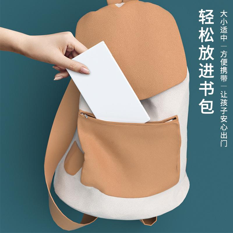 防尘口罩收纳盒学生放口罩的盒子便携式口鼻罩暂存夹装口罩神器