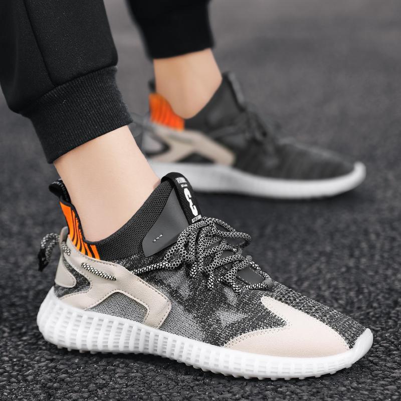 2020夏季新款青年透气飞织四季梵斯椰子鞋时尚潮流运动鞋老爹鞋