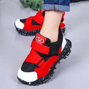 春秋新款儿童运动鞋透气网面男童鞋小孩子休闲鞋中大童学生童鞋