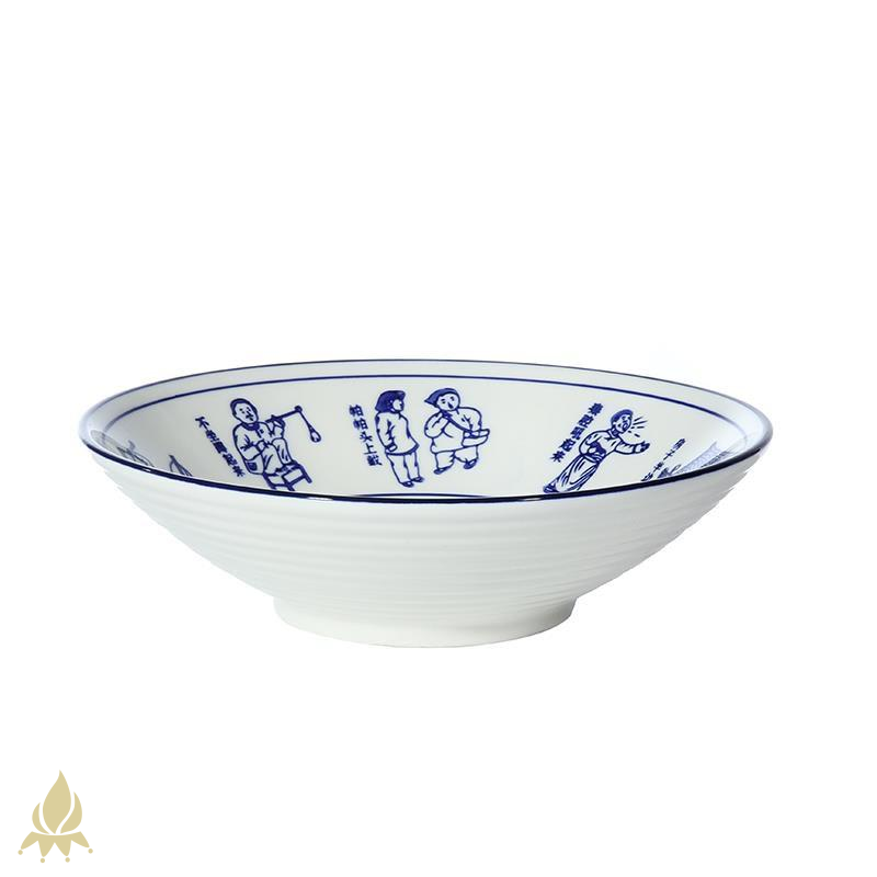 Eight big strange shaanxi oil spilt large horn hat to pull rainbow such as bowl noodles bowl ltd. ceramic hotel chongqing little rainbow such use