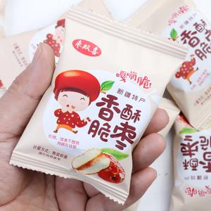 无核红枣香酥脆枣500g