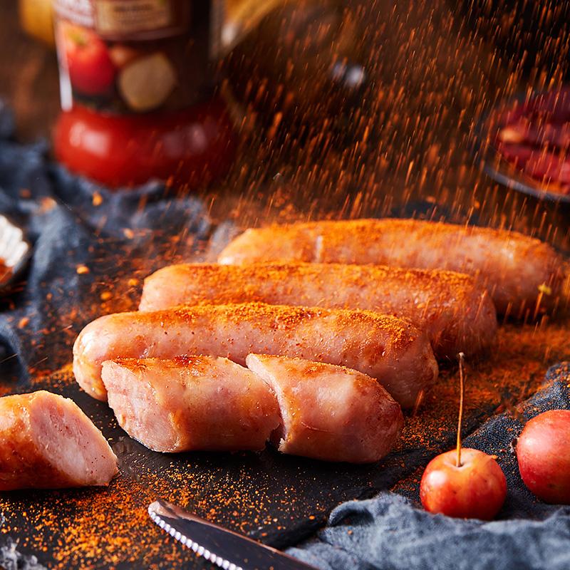 lifefun/立丰地道腊肠香肠500g火山石烤肠纯肉正宗中华老字号上海