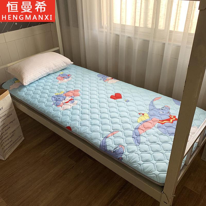 加厚学生宿舍床垫榻榻米儿童单人双人床垫子褥子地铺上下铺可折叠