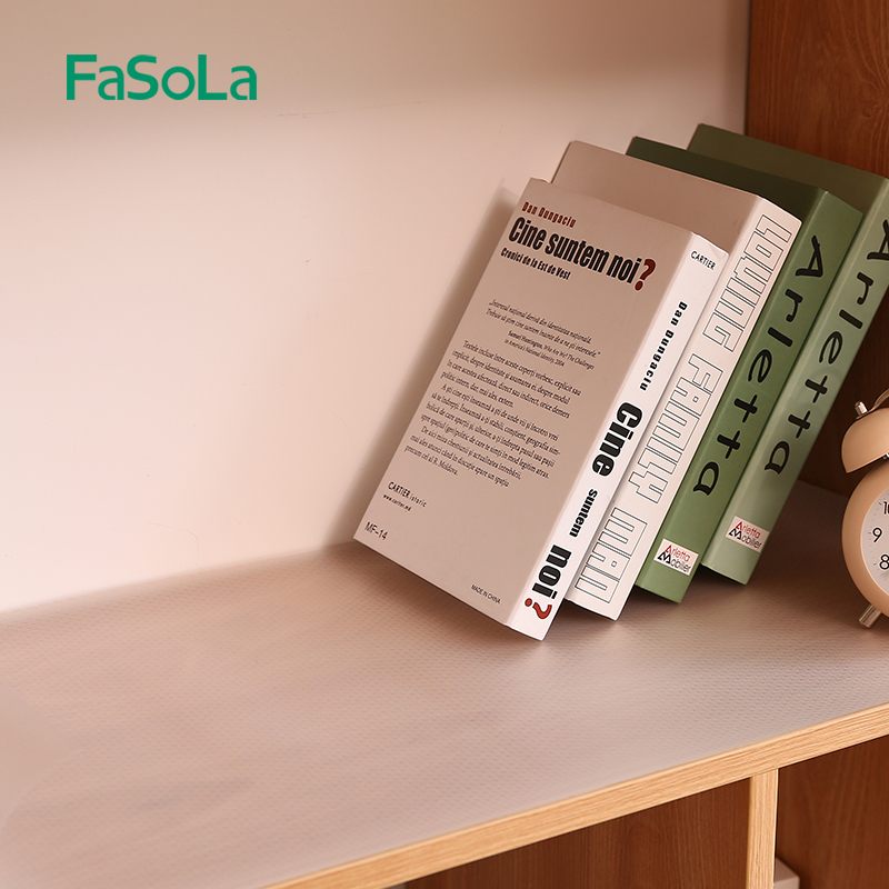 FaSoLa抽屉垫纸防潮橱柜垫桌垫衣柜鞋柜防水可裁剪厨房台面防尘