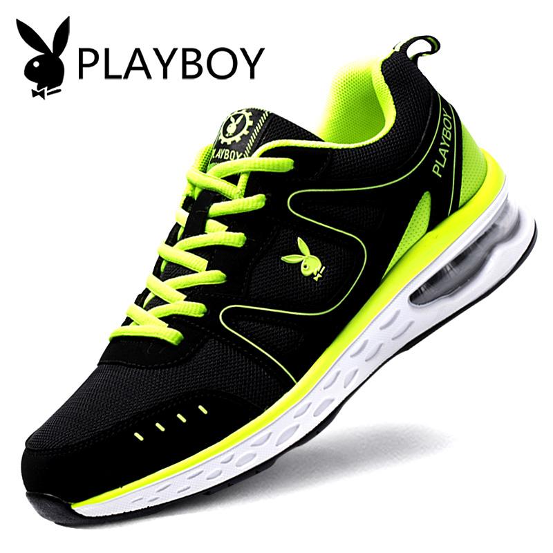 花花公子男鞋秋季休闲男士运动鞋韩版潮流增高旅游学生气垫跑步鞋