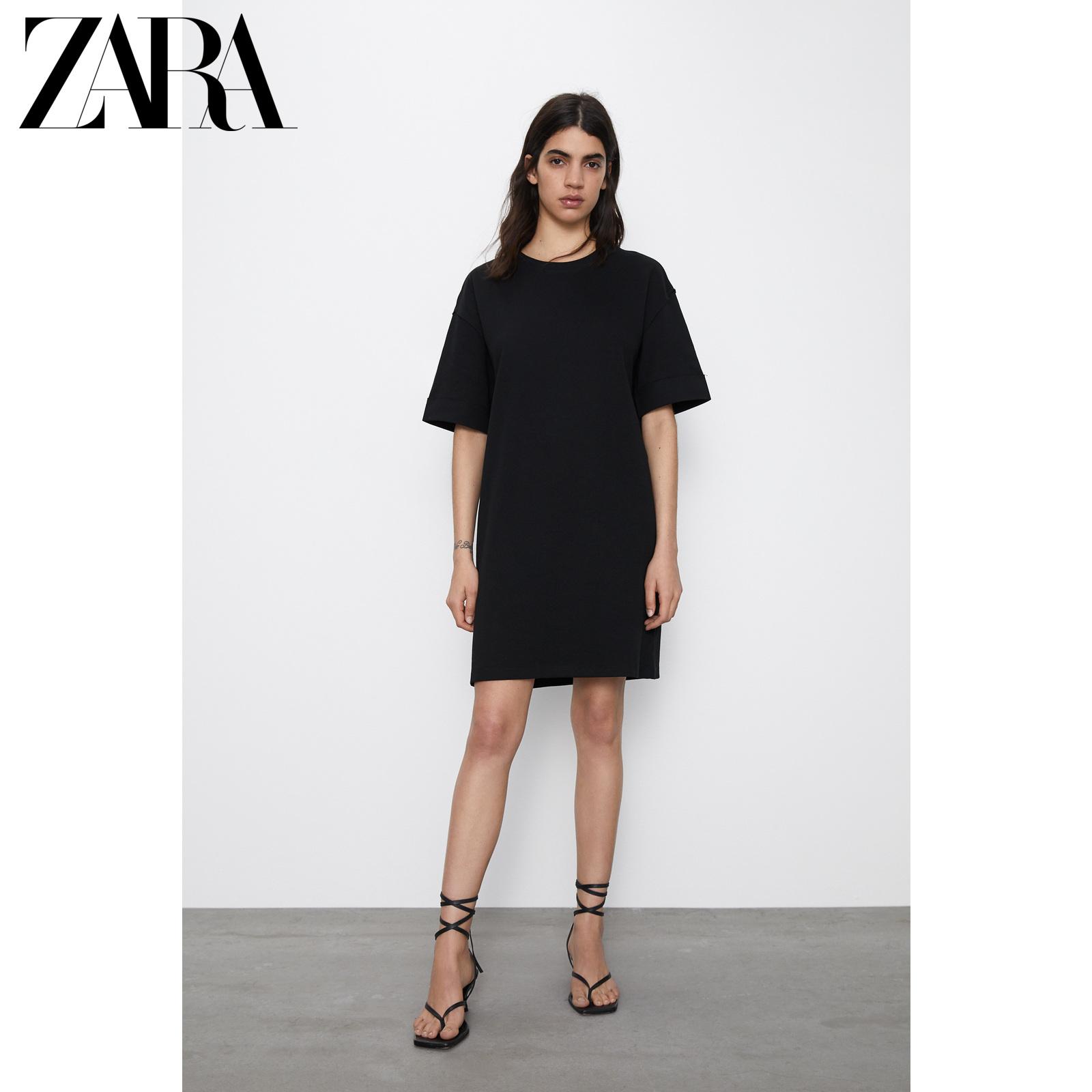 ZARA新款 TRF 女装 基本款连衣裙 04174327800
