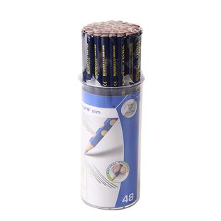德国LYRA艺雅48支装洞洞笔学龄前儿童三角铅笔幼儿园小学生铅笔初学者HB洞洞铅笔写字洞洞铅笔