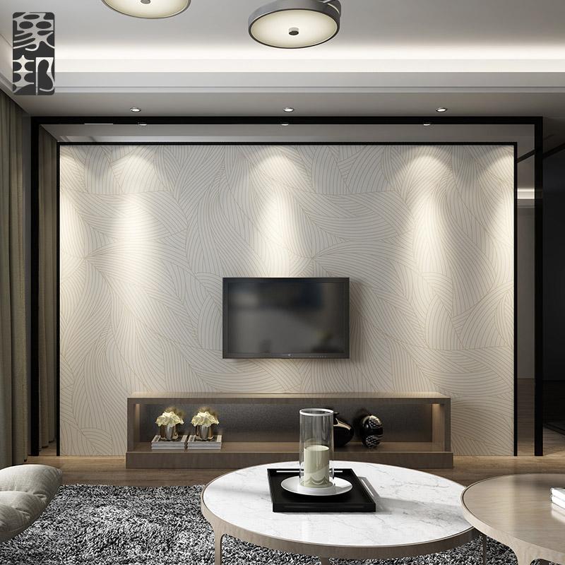 象邦电视背景墙瓷砖现代简约客厅大理石背景墙电视墙边框造型1-2