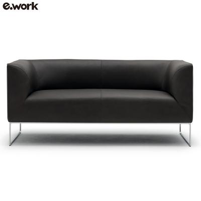 ework办公家具现代简约接待办公室西皮沙发组合时尚单人三人位