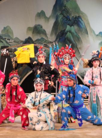【北京】长安大戏院10月21日 河北梆子《呼延庆打擂》
