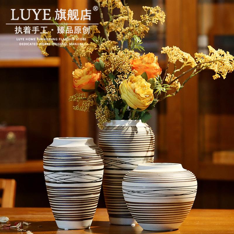 luye陶瓷花瓶摆件