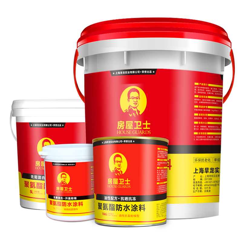 House Guard Roof Water Trap Material Exterior Roof Polyurethane Roof Asphalt Plugging Wang
