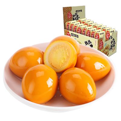 180个湖湘贡鹌鹑蛋知心卤蛋香辣盐焗铁蛋泡椒味无壳即食零食包邮