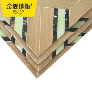 金舰 拼花实木多层复合地板 定制地板 大厂家直销 自然环保 艺术