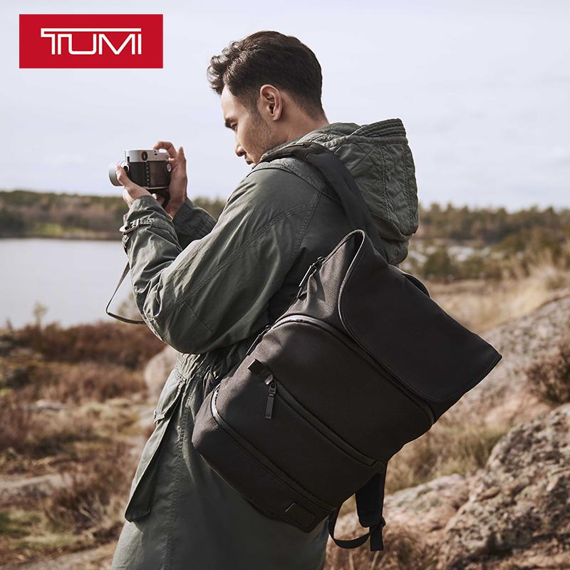 18秋冬新品TUMI-途明阮经天同款Tahoe系列男士休闲旅行双肩背包07