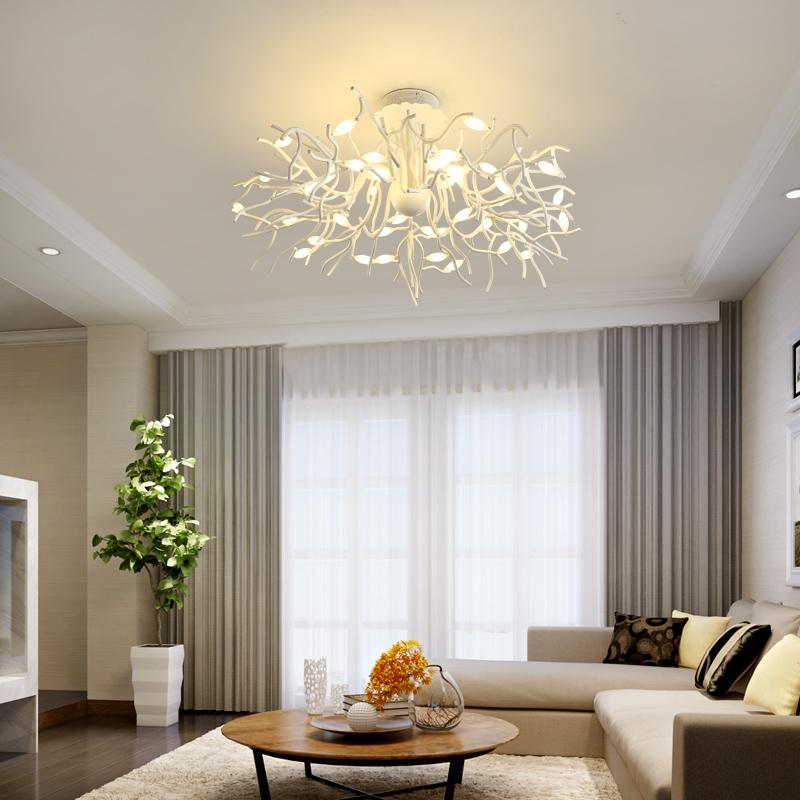 北欧客厅灯后现代简约大气吸顶灯个性创意大厅灯温馨浪漫主卧室灯