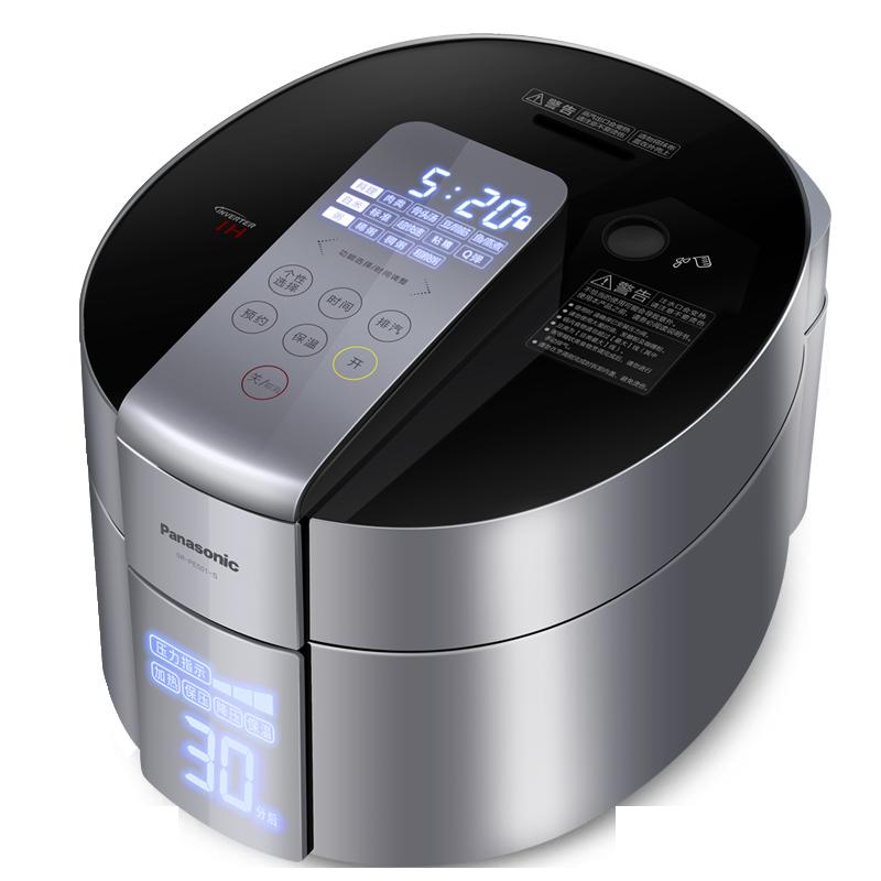 [6期免息]Panasonic-松下 SR-PE501-S日本电饭锅高压力IH饭煲5L