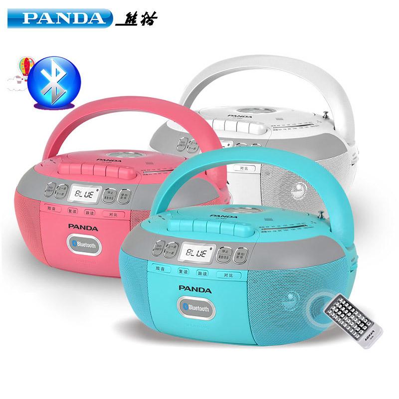 PANDA-熊猫CD-880蓝牙CD复读机DVD光盘播放机磁带cd一体播放机U盘TF卡转录英语学习面包机收录机CD-850升级版