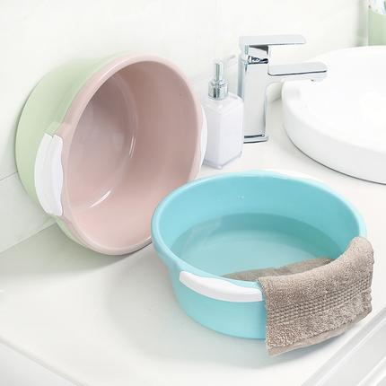 3个装塑料脸盆家用大号加厚成人洗衣服盆卫生间洗脸盆子洗脚盆