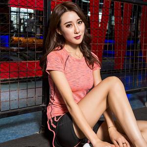 2018春夏新款瑜伽服套装女专业运动健身房晨跑步服宽松速干衣显瘦