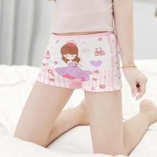 儿童内裤女童纯棉婴儿平角三角1女孩小孩2四角3小童6岁女宝宝短裤
