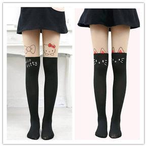 女童薄款连裤袜