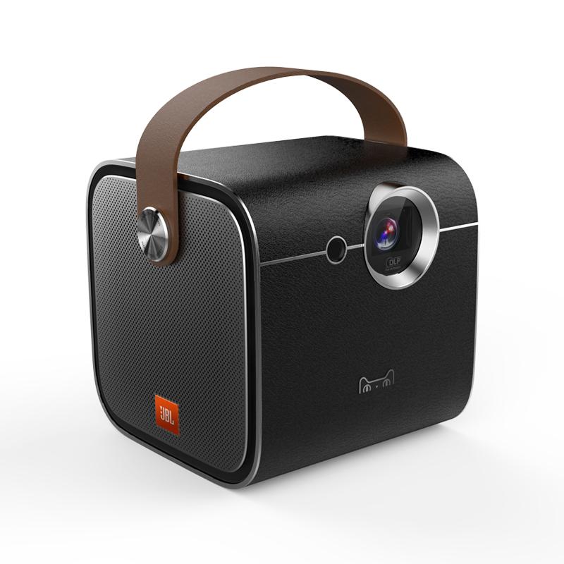 天猫魔屏A1_S便携式家庭影院Wifi 支持4K高清投影机投影仪