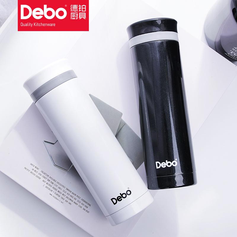德国deboins文艺男女士真空304不锈钢情侣水杯创意韩国保温杯