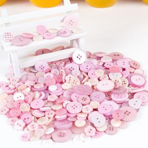 儿童创意礼物纽扣画DIY材料包幼儿园手工制作花束扣子粘贴画玩具