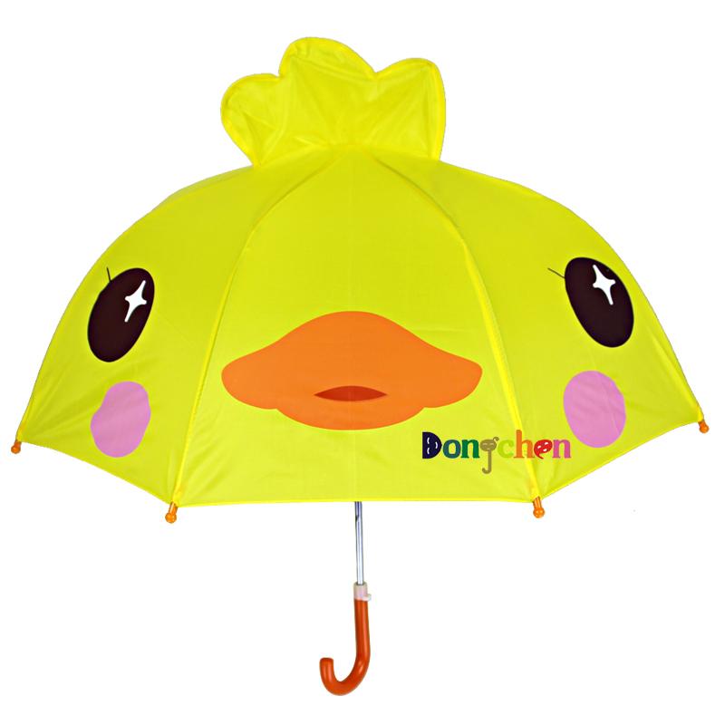 東朝の子供の傘の男の女の子の赤ちゃんの小学生の2用幼稚園のアイデアの王女の直棒の晴傘,タオバオ代行-代行奈々