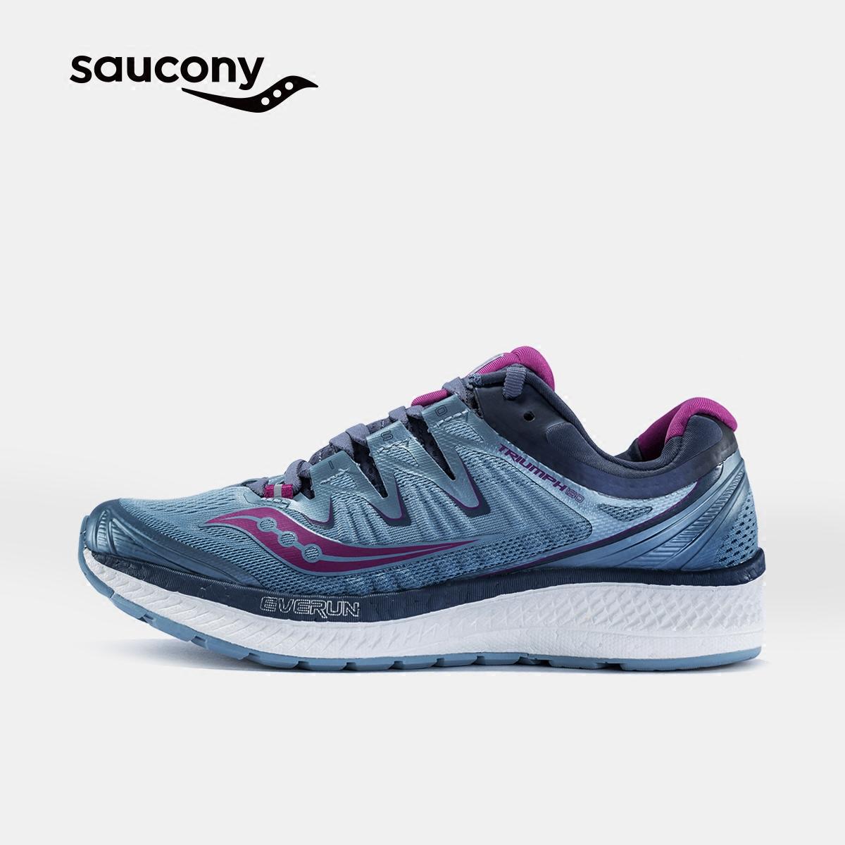 Saucony圣康尼TRIUMPH ISO4 舒适缓震运动女子跑步鞋S10413
