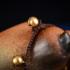 凯依卡丝脚链女民族风泰国手工编织红色水滴波西米亚复古合成松石