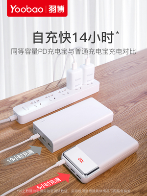 Yoobao Original Power Bank 20000 mAh High Quality Quick Charge PD 768071