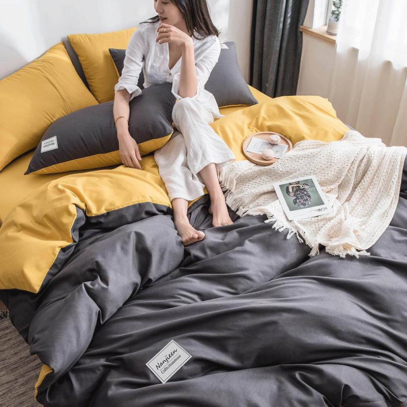 四件套宿舍单人床上四件套学生三件套床单被套双人床上用品