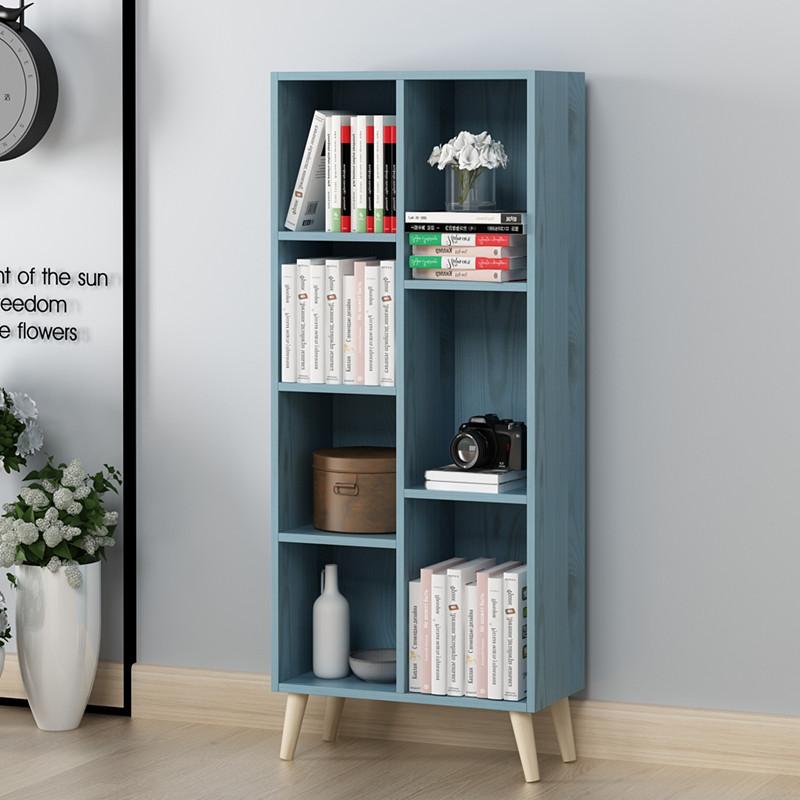 书柜置物柜柜子自由组合柜北欧收纳柜储物格子柜简易书架置物架