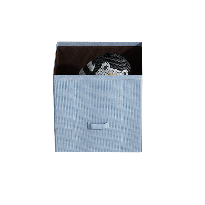 无纺布抽屉收纳盒袜子内衣储物盒子可折叠小号整理箱玩具零食框子