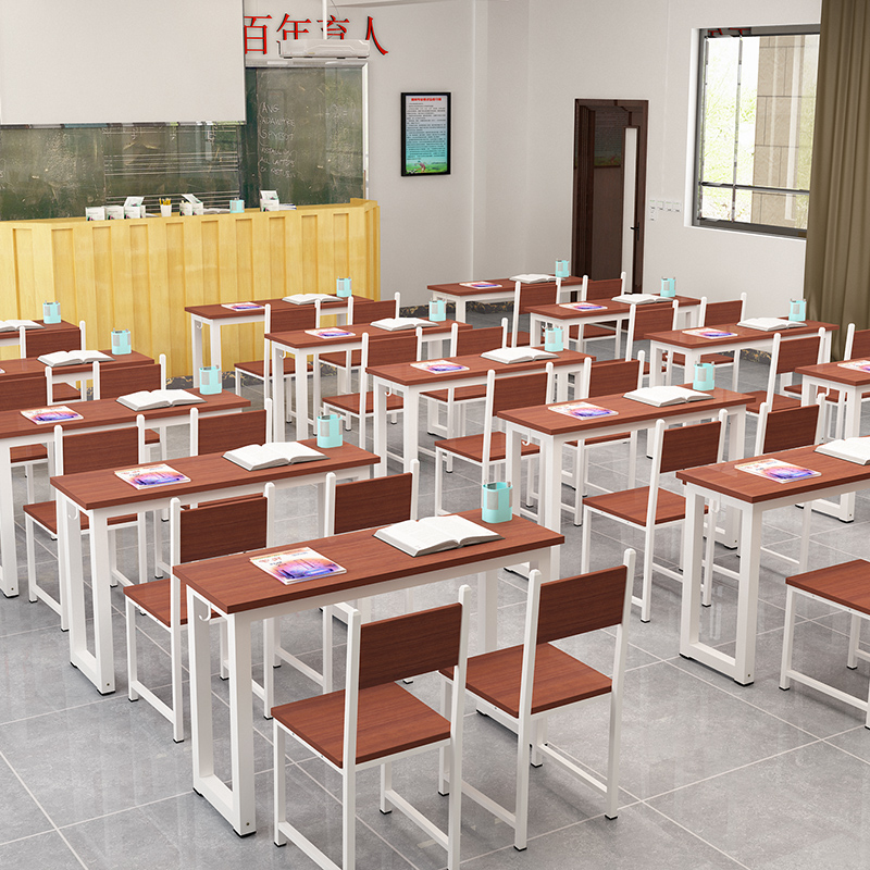 Primary And Secondary School Desks And Chairs Counseling Tutorial Special  Tables And Chairs Canteen Restaurant Long Table Library Dedicated Learning  Table