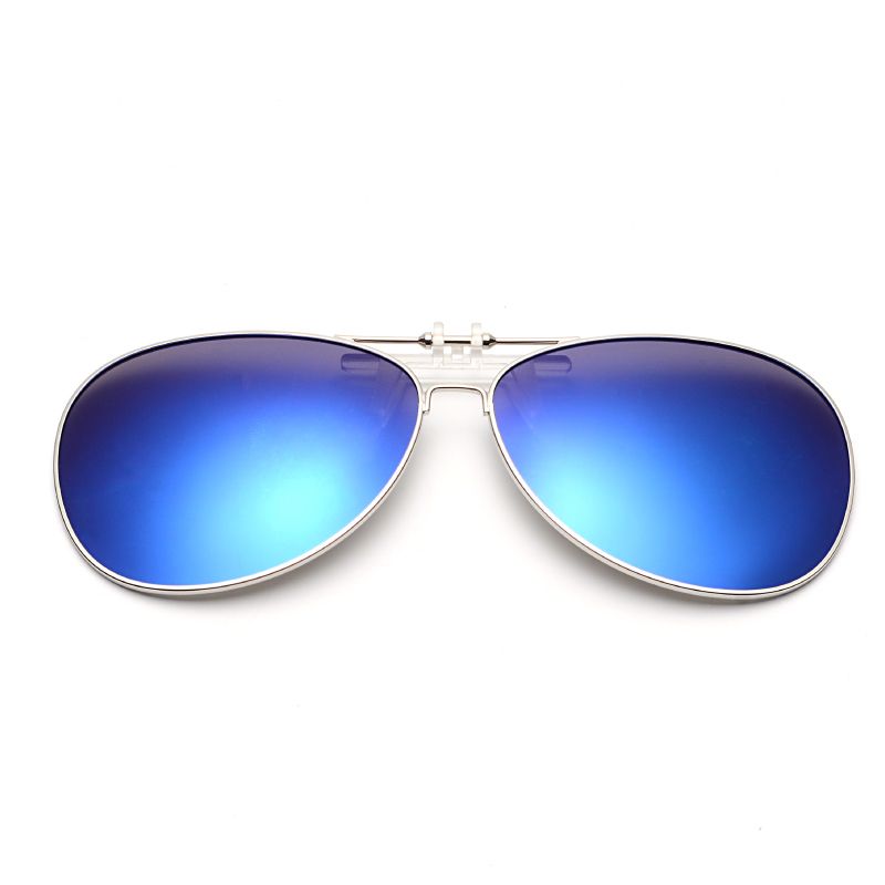 偏光墨镜夹片式男太阳镜女日夜两用近视眼睛司机驾驶蛤蟆钓鱼眼镜