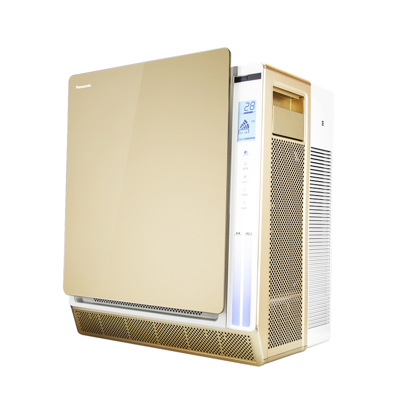 松下空气净化器家用卧室办公室静音氧吧PM2.5除甲醛花粉尘F-136